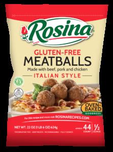 Rosina Gluten Free Meatballs