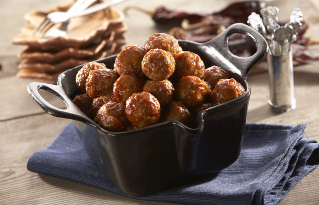 Spicy Chipotle Meatballs