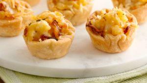 Cheesy Cauliflower tartlets