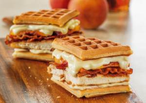 Galbani Chicken and Waffles Grilled Cheese