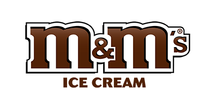M&Ms ice cream logo 2018
