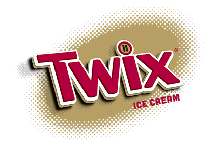 Twix Ice Cream logo 2018