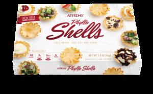 athens phyllo shells