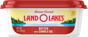 Land O Lakes Butter with Canola Oil tub