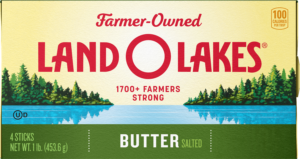 Land O Lakes Salted Butter carton