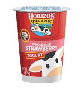 Horizon Organic Strawberry Yogurt