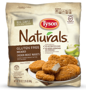 Tyson Gluten Free Chicken Nuggets