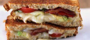 Bacon, Tomato, Avocado & Havarti Grilled Chees