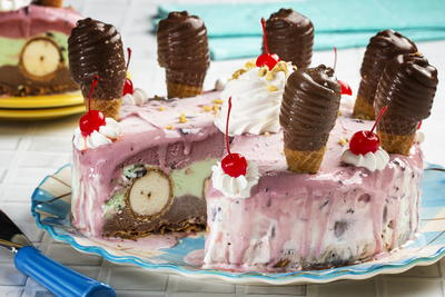 MFTK Crazy Good Ice Cream Cake