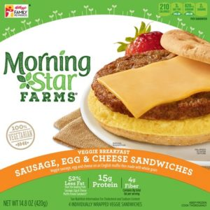 MorningStar Farms Sausage Egg Cheese Breakf