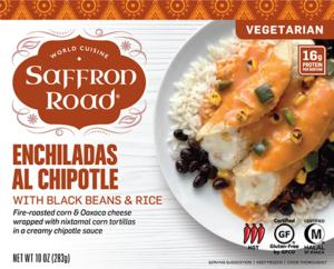 Saffron Road Enchiladas al Chipotle