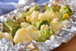 Birds Eye Grilled Orange Glazed Broccoli Cauliflower