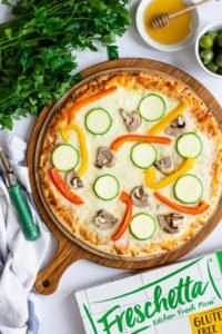 Butter Half Freschetta GF Veggies Pizza