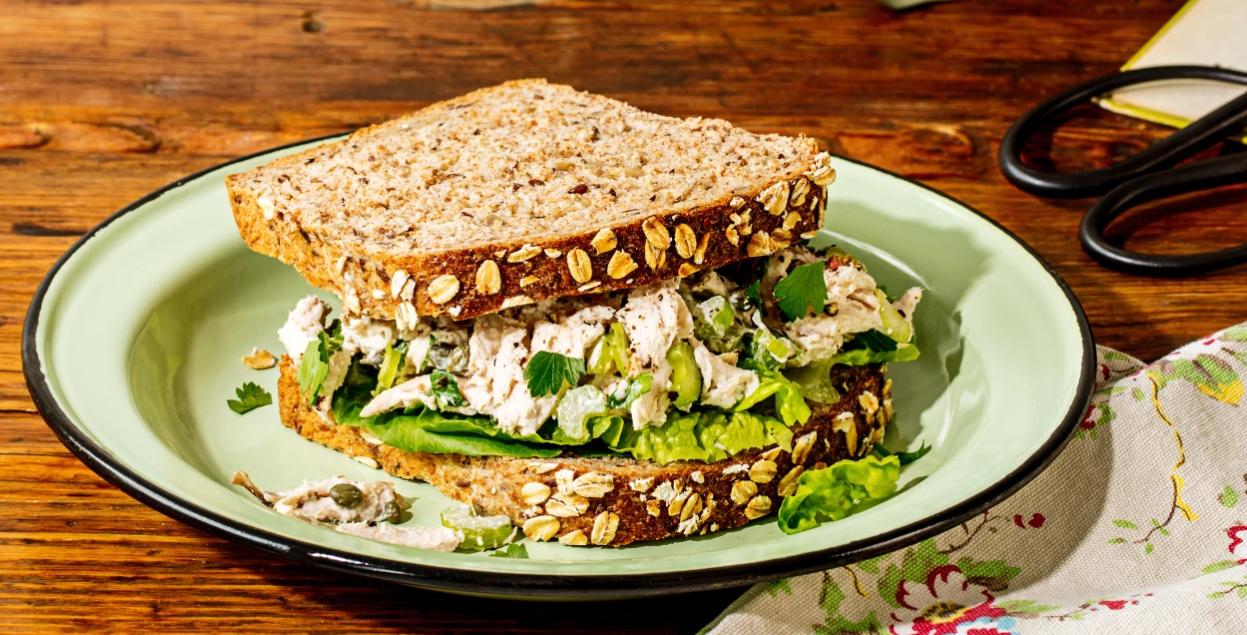 Chobani Rotisserie Chicken Salad Sandwich