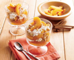 Peach Pie Parfaits