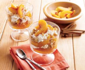 Peach Pie Parfaits