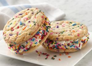 Pillsbury Confetti Ice Cream Sandwiches