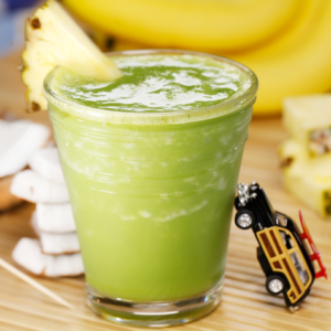 Silk Greena Colada Smoothie