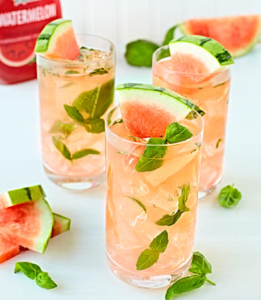 Tropicana Watermelon Rum Smash