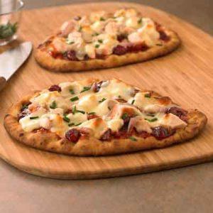 BBQ Turkey Flatbread Pizza