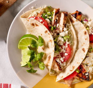 Borden Lime-Marinated Chicken Tacos