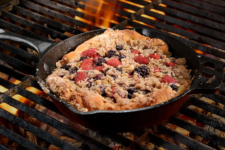 Bridgford Foods Berry Cobbler BBQ