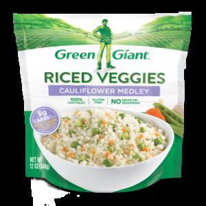 Green Giant Riced veggies Cauliflower Medley