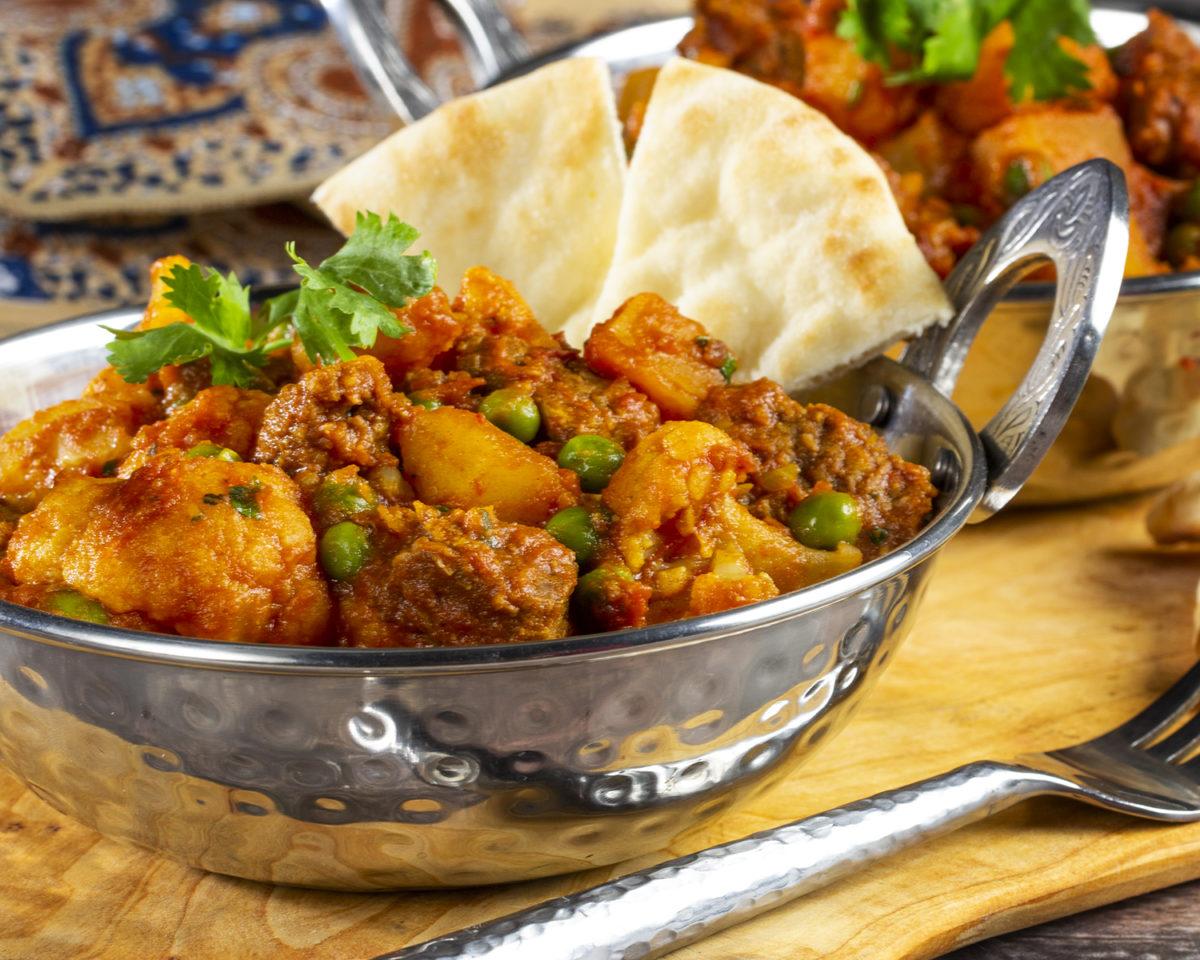 Indian-Spiced Veggie Skillet
