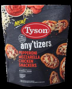 Tyson Pepperoni Mozzarella Chicken Snackers