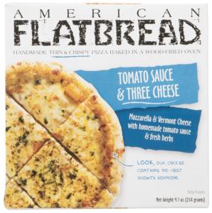 American Flatbread Tomato Sauce Three Cheese