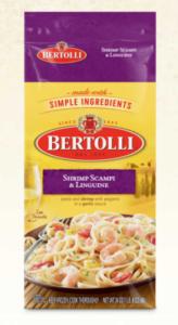 Bertolli Shrimp Scampi Linguine