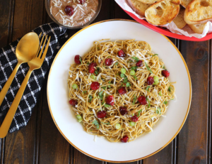 Cape Cod Cranberry Pesto Pasta