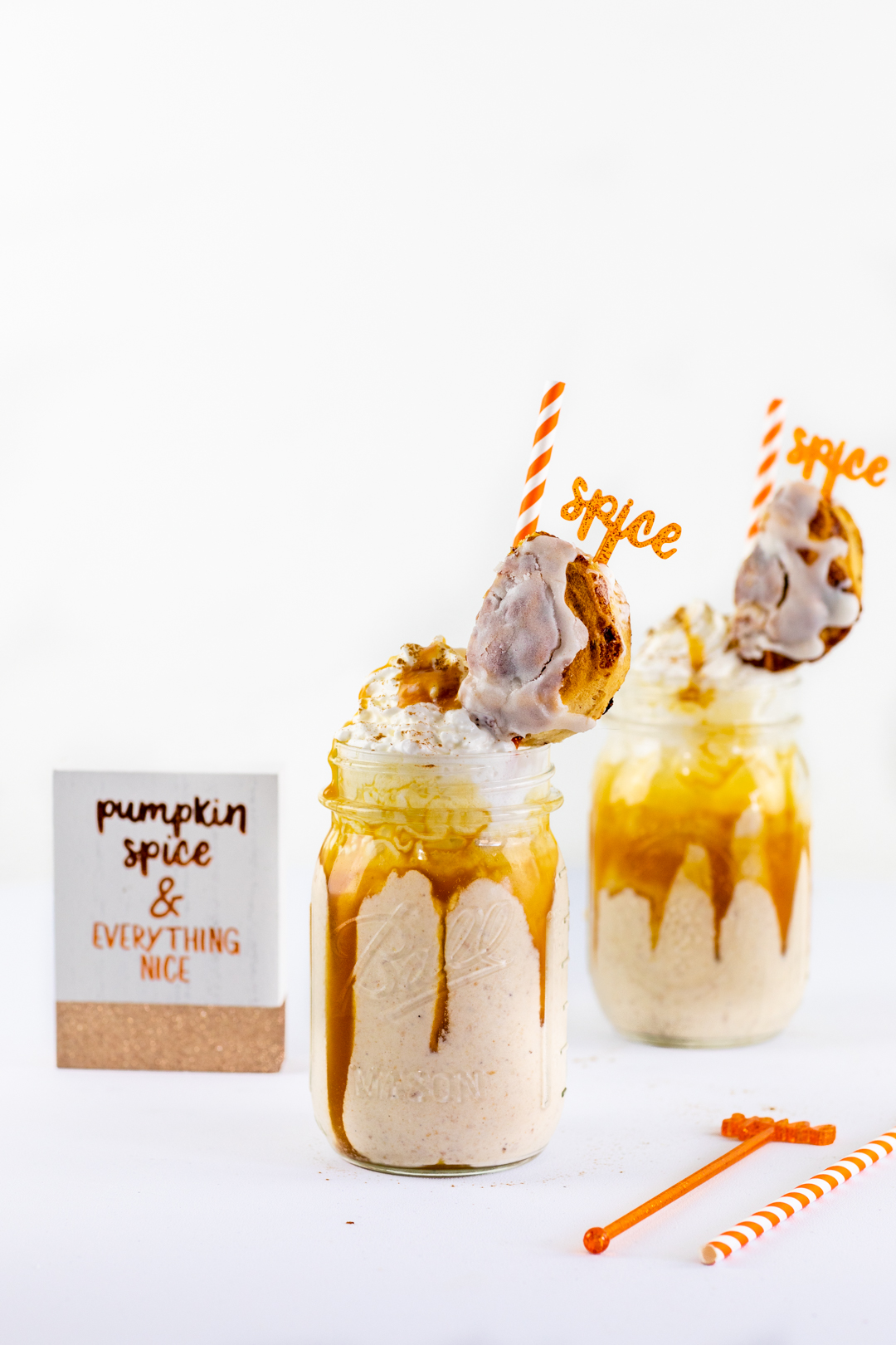 Dawn Pumpkin Pie Cinnamon Roll Shakes