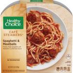 Healthy Choice Spaghetti and Meatballs