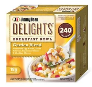 Jimmy Dean Veggie Breakfas Bowl