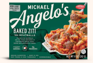 Michael Angelos Baked Ziti with Meatballs