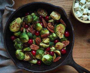 Cape Cod Cranberry Brussels Sprouts