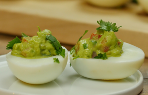 Egglands Best Guacamole Deviled Eggs