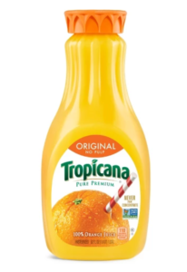 Tropicana Premium No Pulp orange Juice