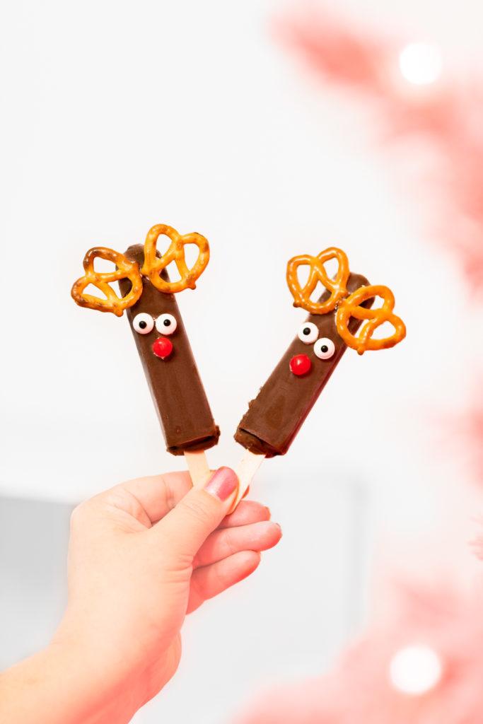 Reindeer Popsicles