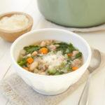Weeknight Turkey Kale Soup
