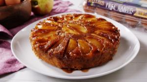Nellies Caramel Apple Upside Down Cake