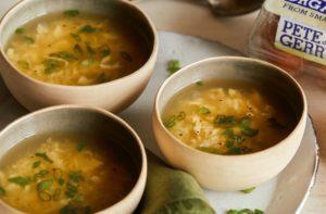 Pete Gerrys Egg Drop Soup