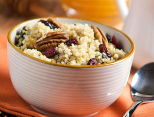 Silk Cinnamon Breakfast Quinoa