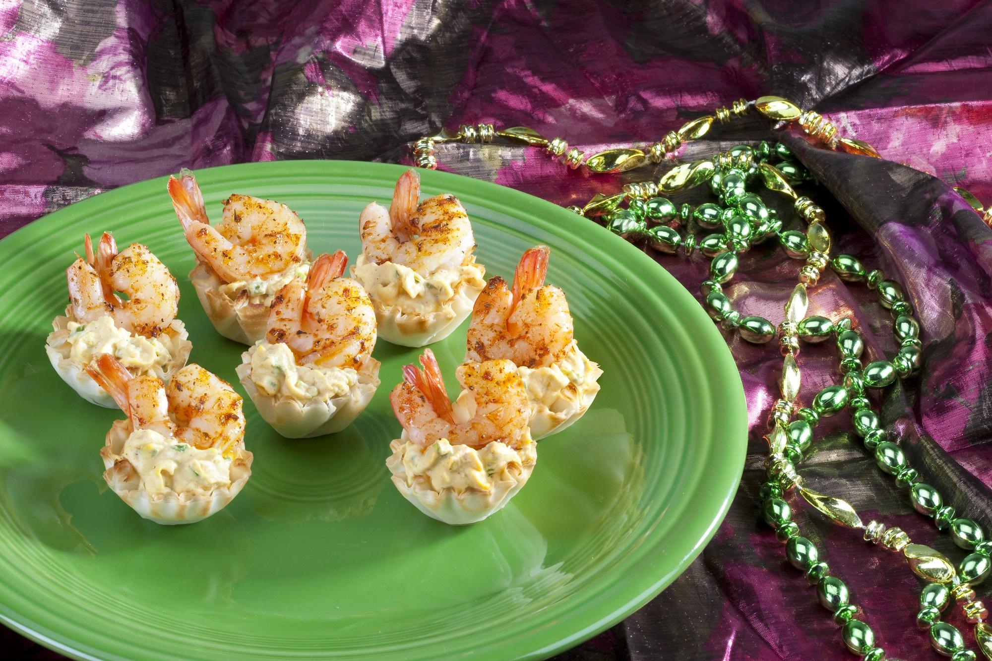 Athens Cajun Deviled Egg Phyllo Shells