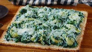 Green Giant Spinach Artichoke Dip Cauli Pizza