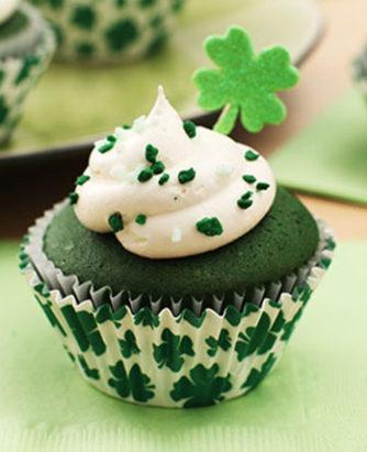 Kraft Green Velvet Cupcakes