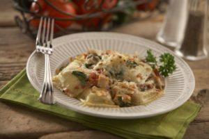 Rosina Gluten Free Ravioli Spinach Casserole