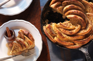 Bays Baked Apple Cinnamon Skillet French Toast