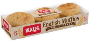 Bays Multigrain English Muffins